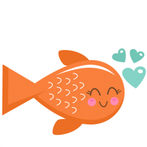 valentine fish svg scrapbook cut file cute clipart files for rh pinterest com cute fish clipart png cute fish clipart png