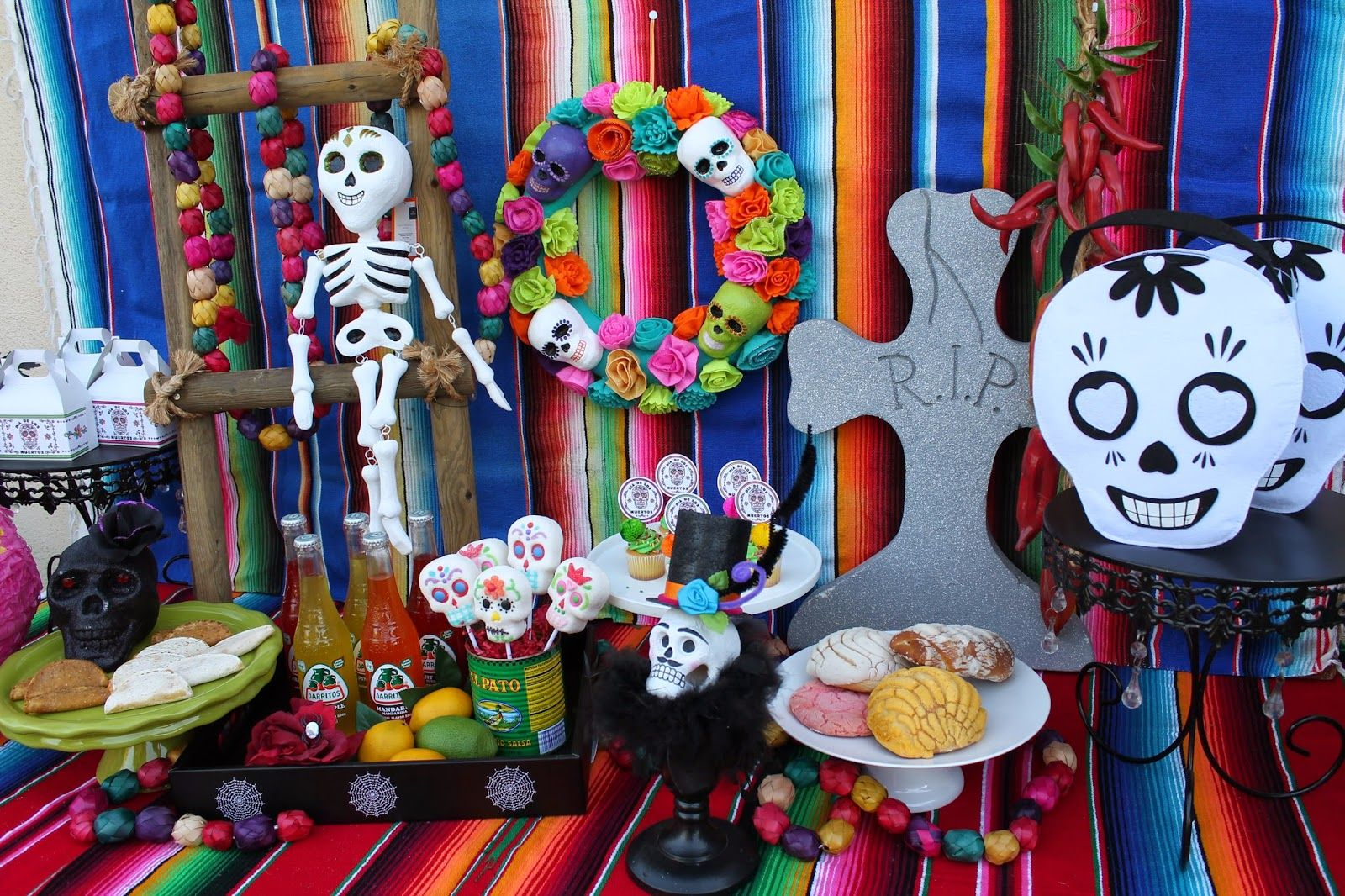 LAURA'S little PARTY: Day of the dead - party inspiration