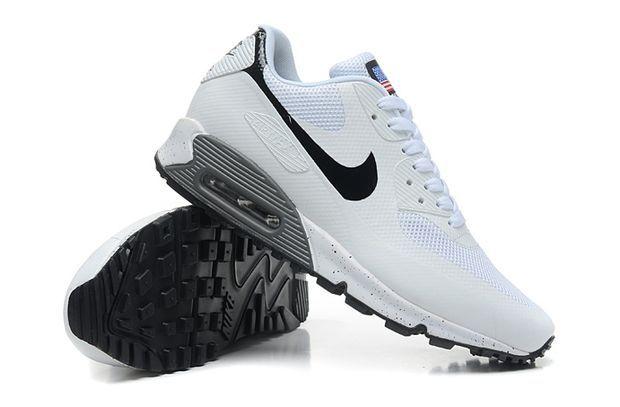 Nike Air Max 90 HYP QS Mujeres Zapatos Blanco Negro Online de Bajo Precio  en Línea a64c9645b4