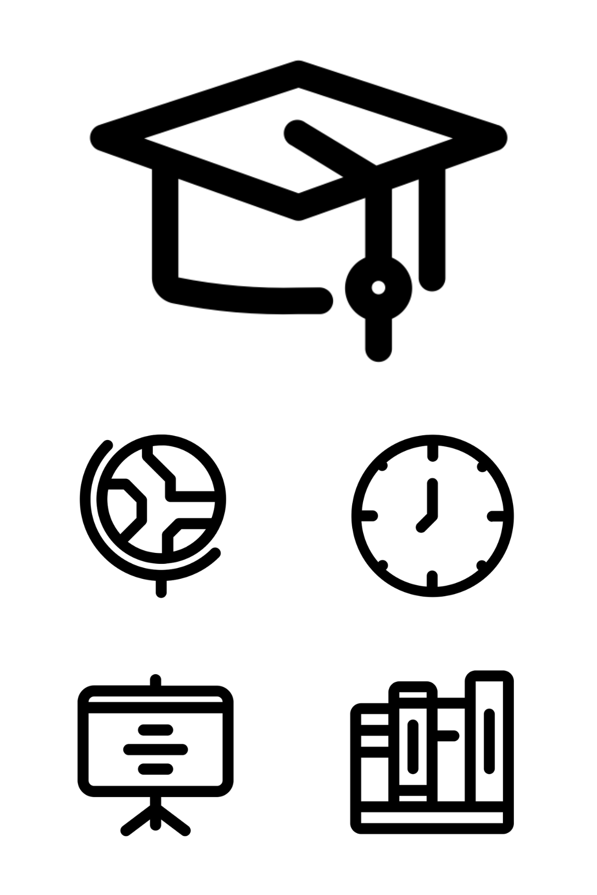 Stock Vector Pictogram, Workplace, Funny photography