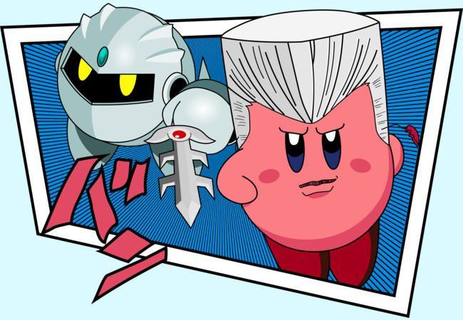 Kirby Jojo Crossover Jojo Bizzare Adventure Jojo Bizarre Jojo