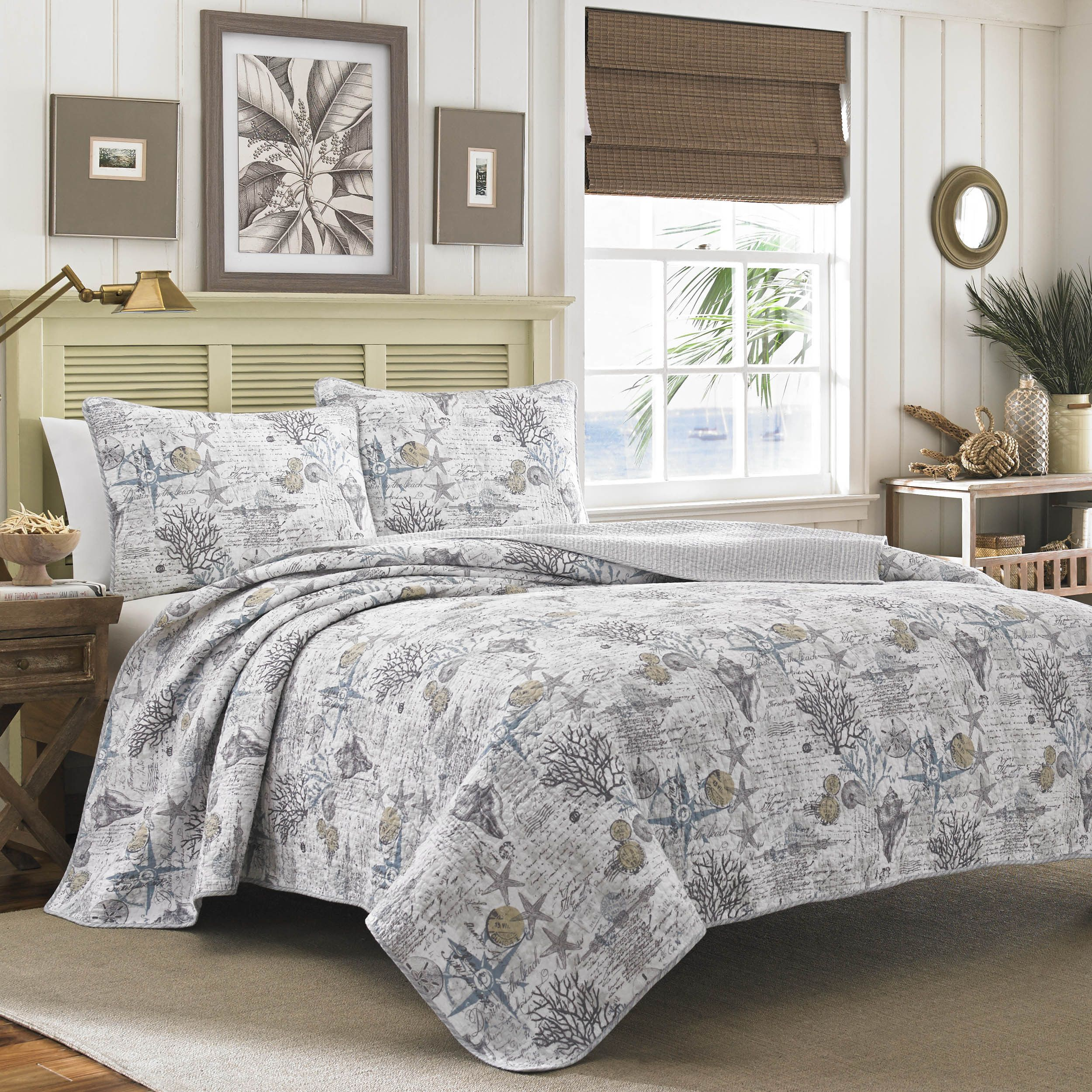piece comforter bedding pdx tommy bliss quilt bahama bed beach wayfair set reviews reversible home bath king