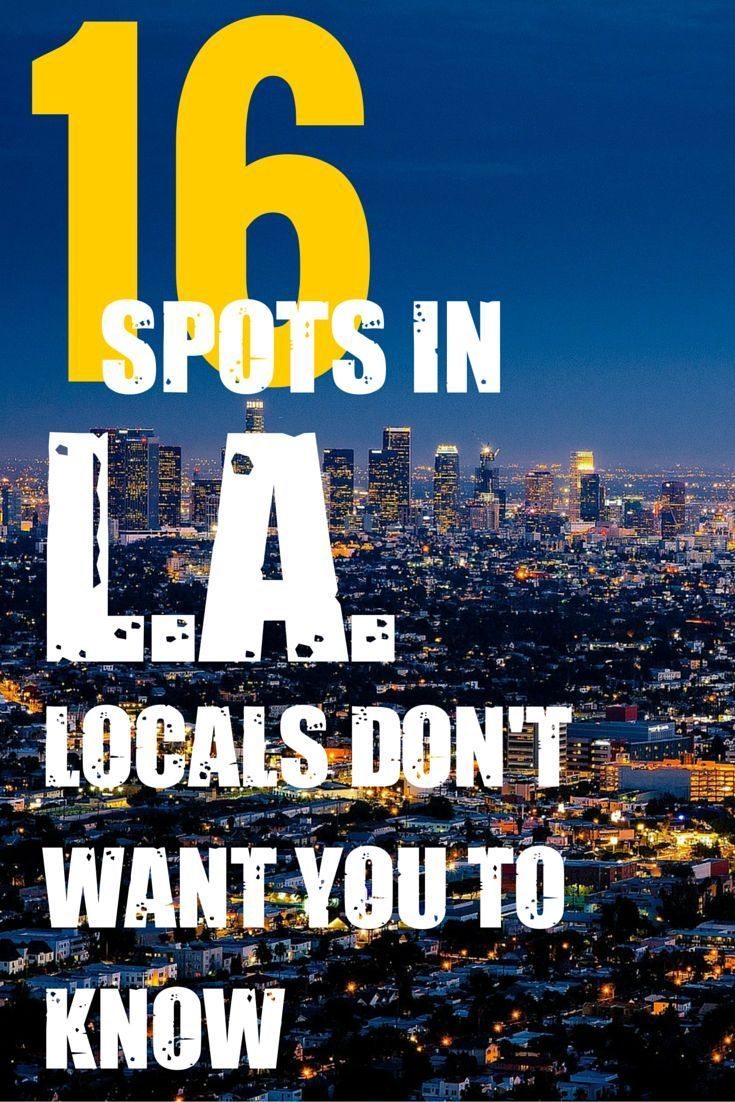 Dating spots in los angeles