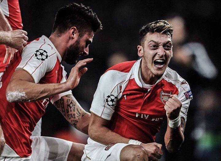 Mesut Özil registra 2 goles y 6 asistencias en los últimos 8 partidos que ha disputado.