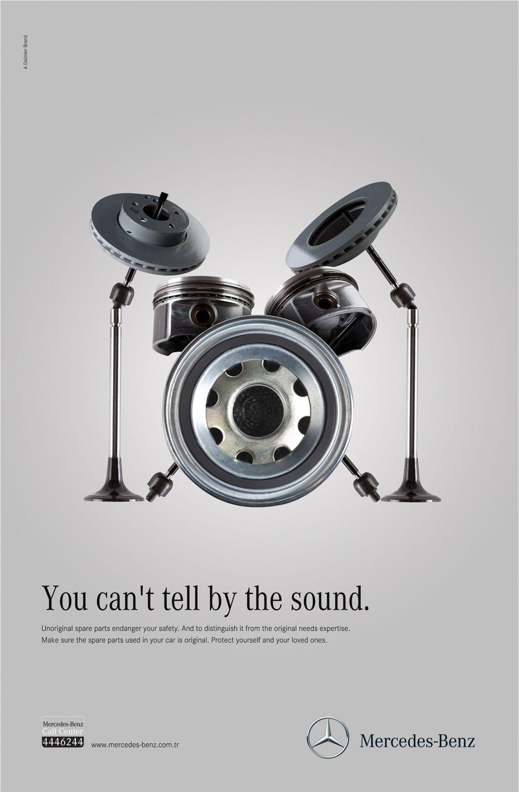 Imperceptible unoriginal part ads pinterest mercedes for Mercedes benz call center