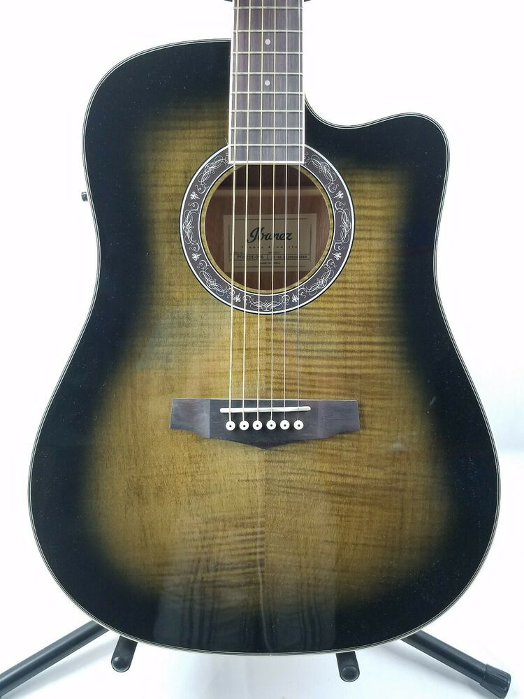 Ibanez Pf28ece Right Handed Acoustic Electric Guitar Ebay In 2020 Acoustic Electric Guitar Acoustic Electric Electric Guitar