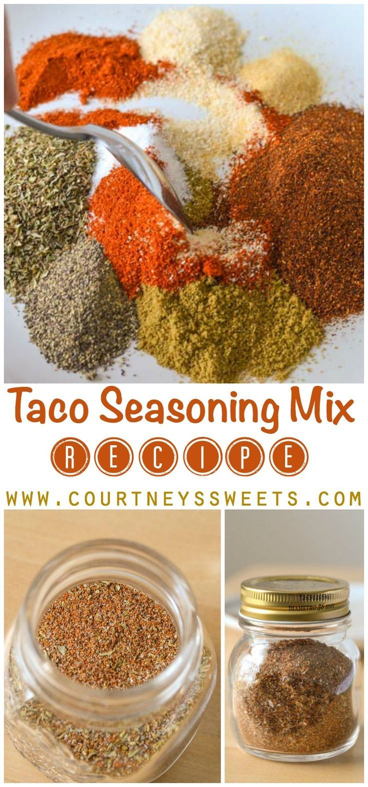 Taco Seasoning Mix #maketacoseasoning