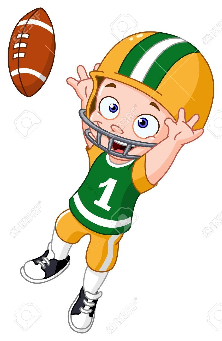 cartoon football player google search football pinterest