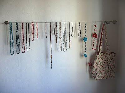 Hilo de acero para colgar collares - Para colgar collares ...