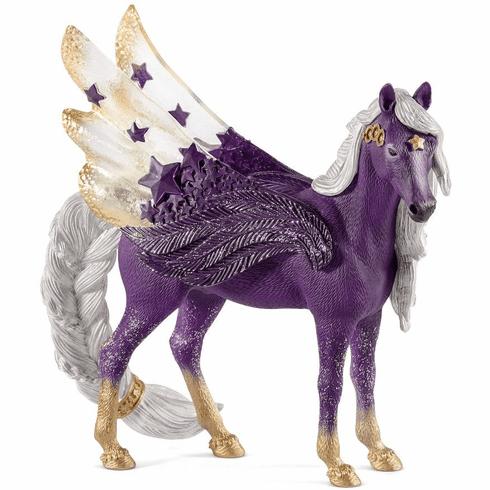 Schleich Elves Bayala Star Pegasus Mare By Schleich 70579 Animal Figures Schleich Pegasus