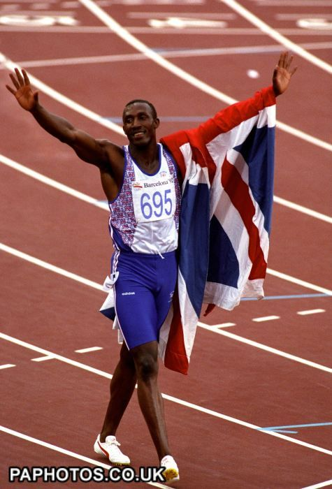 Athletics - Barcelona Olympic Games - Mens 100m Final