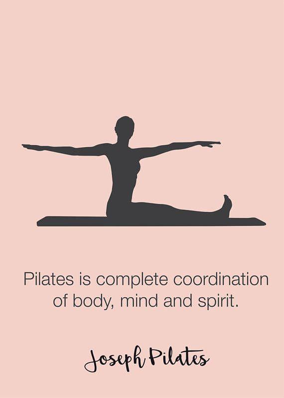 Pilates Poster Set Of 3 Pilates Poster Pilates Art Print Etsy Pilates Quotes Pilates Studio Pilates Motivation