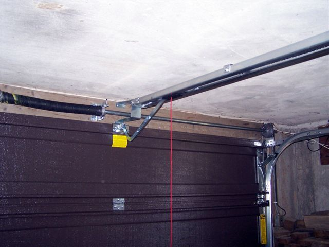 Low Headroom Brackets Garage Door Opener Garage Doors