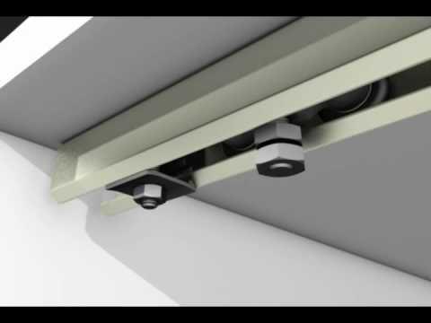 Sistema para puertas de closet frente de placard - Rieles para puertas ...
