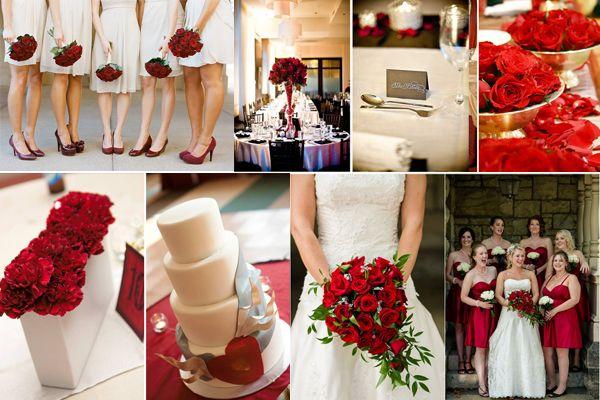 Red Wedding Reception Marriage Venues