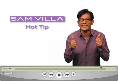 image of A Tip For Cutting Fine Hair by Sam Villa