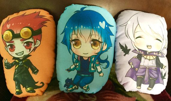Various pillow plush