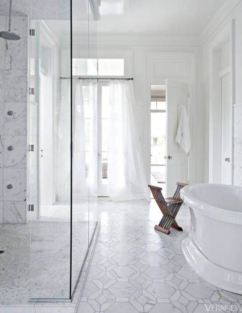 A Historic New Orleans Manors Modern Renovation Decorating - Bathroom renovation new orleans for bathroom decor ideas