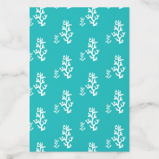 Turquoise Coral Reef Envelope Liner | Zazzle.com #turquoisecoralweddings Turquoise Coral Reef Envelope Liner #Ad , #ad, #Reef#Envelope#Liner#Shop #turquoisecoralweddings