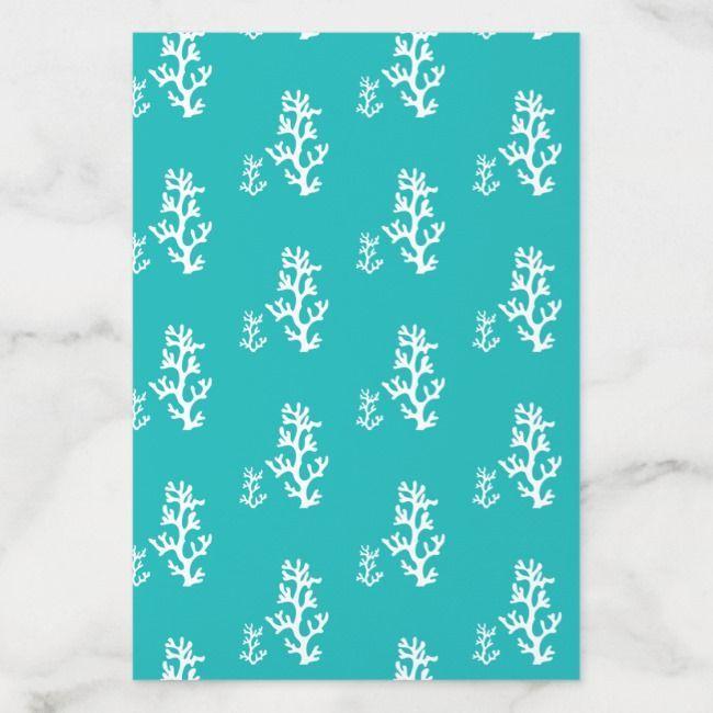 Turquoise Coral Reef Envelope Liner | Zazzle.com #turquoisecoralweddings Turquoise Coral Reef Envelope Liner #Ad , #ad, #Reef#Envelope#Liner#Shop #turquoisecoralweddings