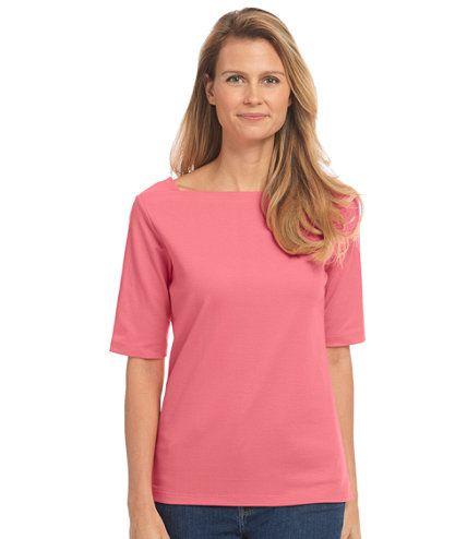 Women's Bean's Square Boatneck Pullover   Free Shipping at L.L.Bean