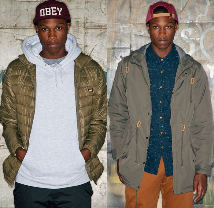 225c26c9fd055 OBEY Clothing 2013 Fall Mens Lookbook - Streetwear Skate Apparel 2013  Autumn: Designer Denim Jeans Fashion: Season Collections, Runways,  Lookbooks and ...