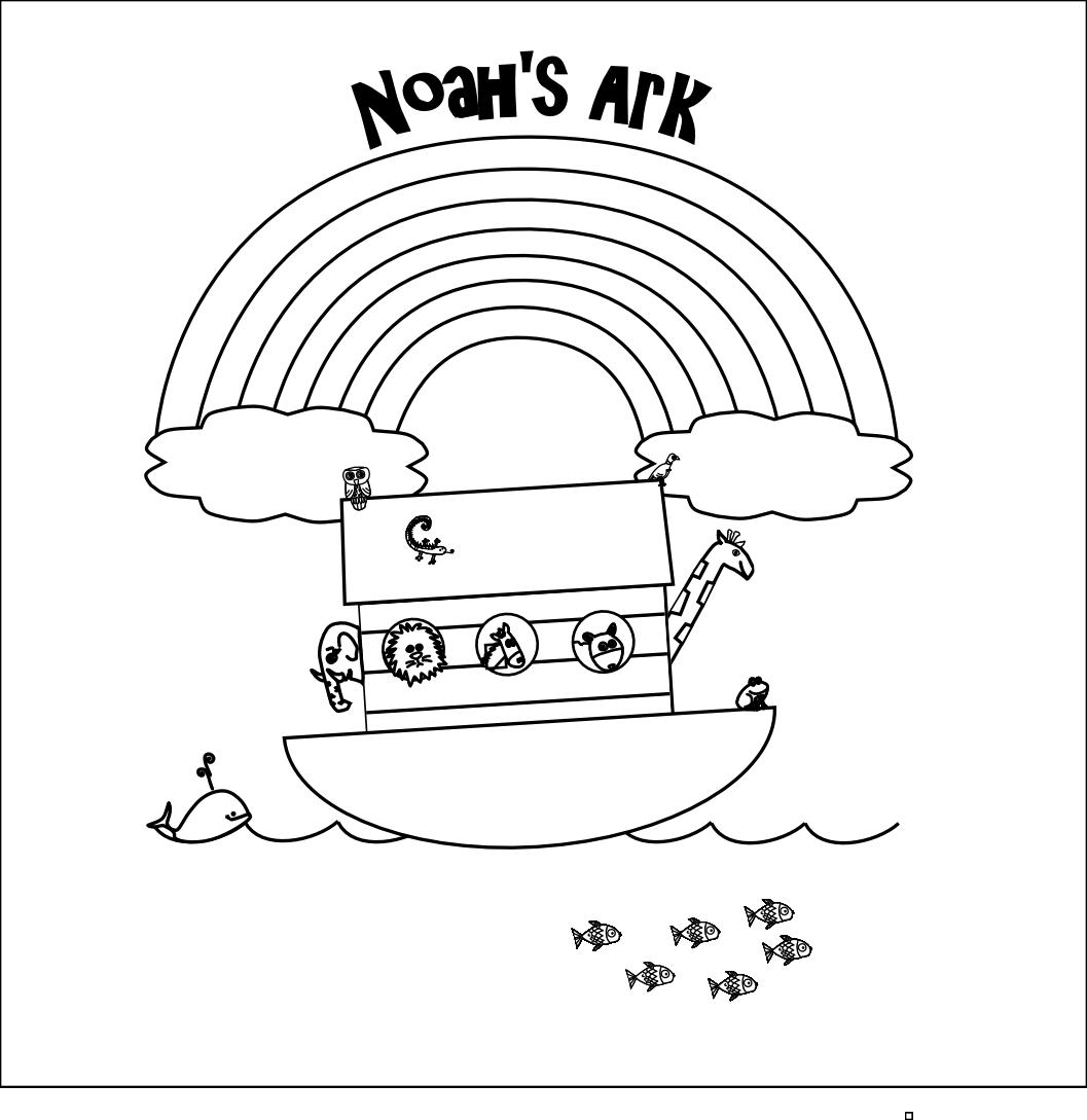 Noah S Ark Printables