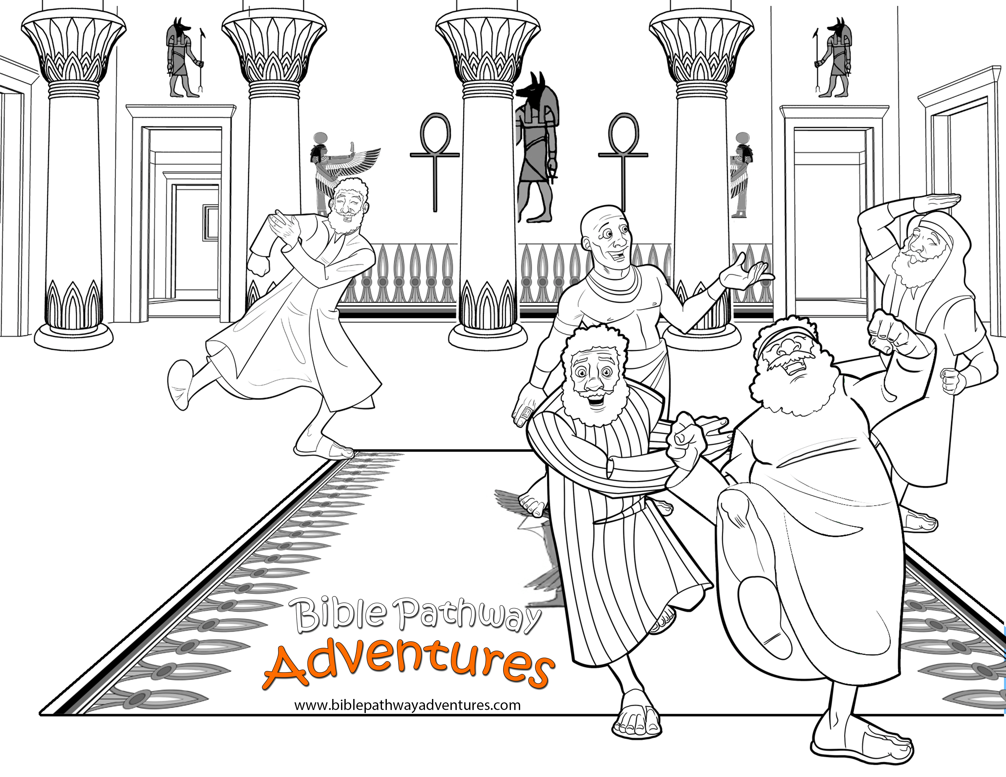 Free Printable Bible Coloring Pages Joseph