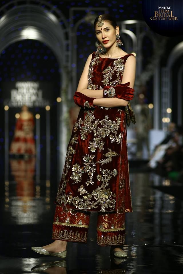 MNR Design Studio Bridal Collection At BCW 19 - PK Vogue # ...