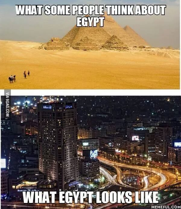 Funny Pictures About Egypt: Hhhhhhhh Funny ! ... Expectations Vs. Reality ... What We
