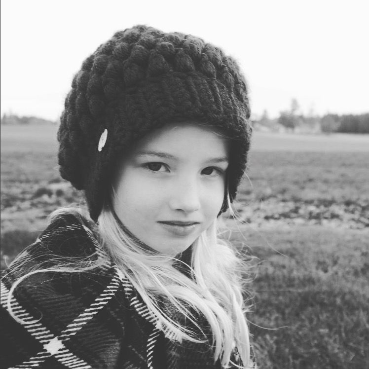 My Princess!!👸🏼 Missing her and wishing I could squeeze her. The sickies that kept us away are gone and I can't wait to hear her voice and see that smile in person. My babies sure do make my World go round!! Doesn't she look Stunning in the hat I crocheted?!!