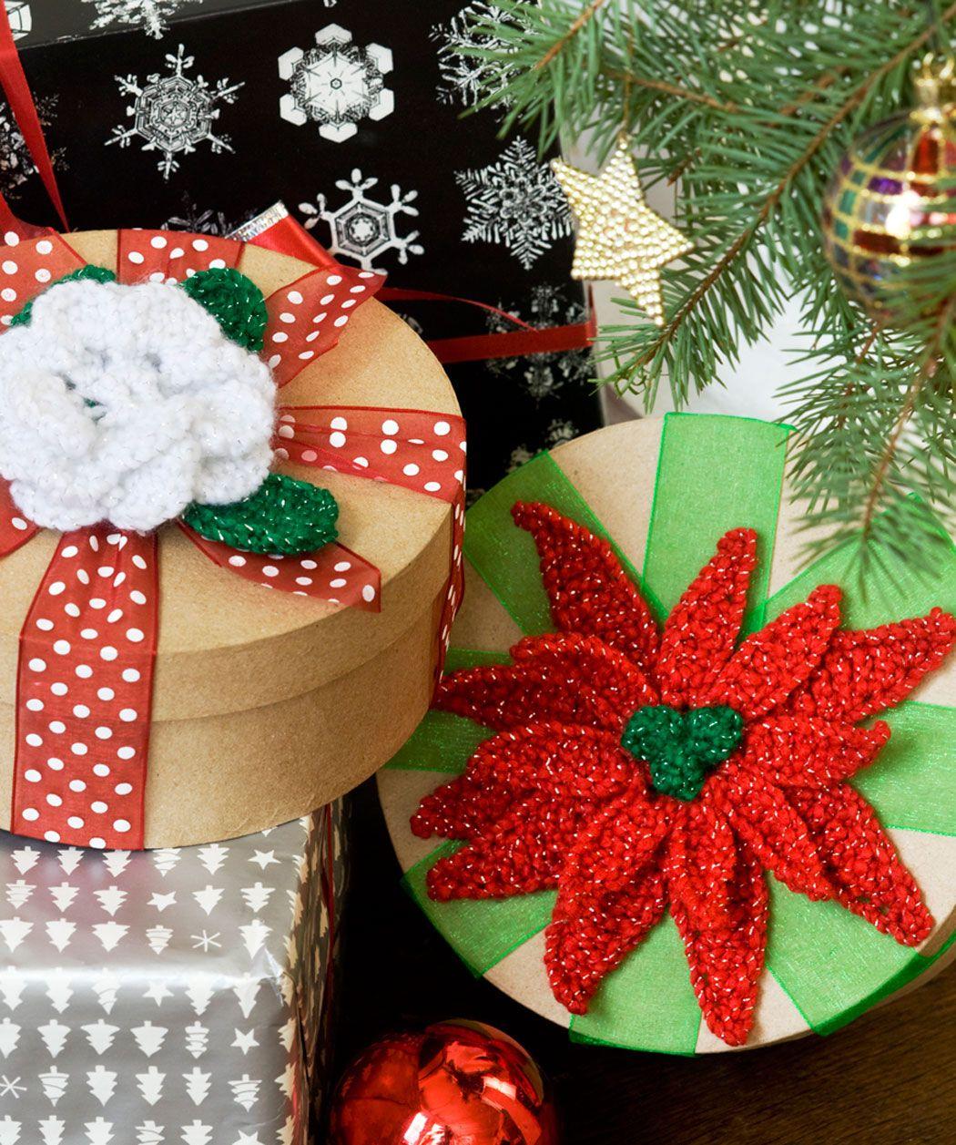 Häkelmuster für Weihnachtsstern und Christrose | Cool Crochet & Knit ...