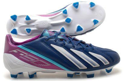 Adidas F50 adizero TRX FG Leather Football Boots Dark Stunning looks,  lightweight, great features