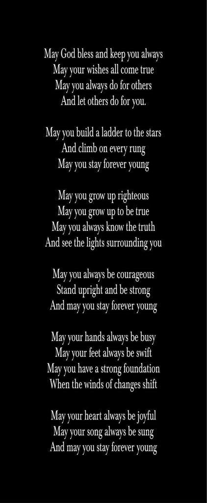 young lyrics songs
