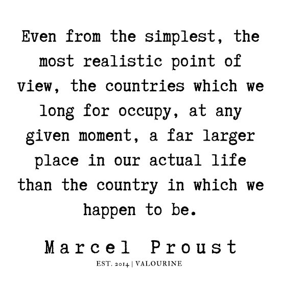 45 | Marcel Proust Quotes | 190709 Poster by QuotesGalore