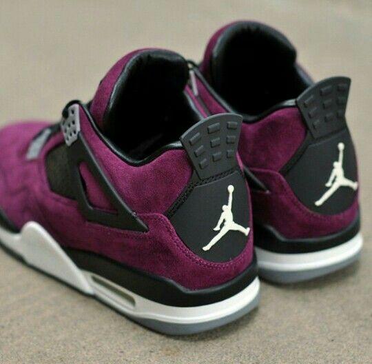 43b0ff9dd793 ... order jordan 4 purple suede custom acca2 212ea