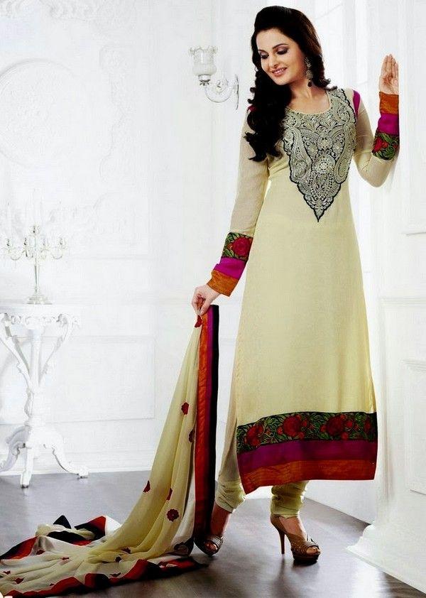 2afe75caa8 Simple Salwar Kameez Designs 2014: Latest summer shalwar kameez collection  2014 for women and latest fashion star pakistani shalwar kameez dresses ...