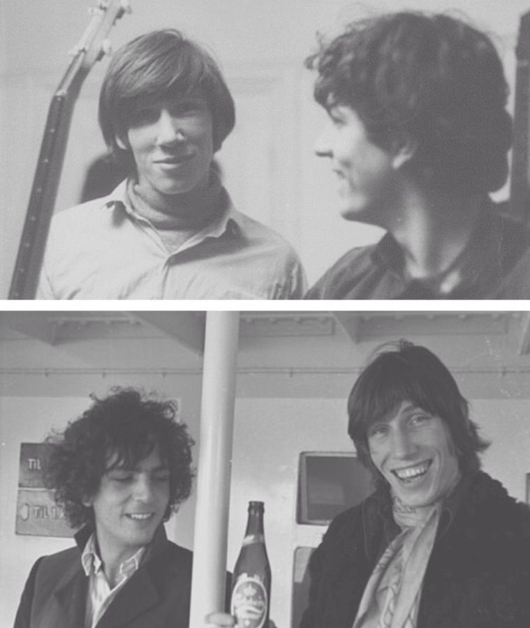 Syd Barrett And Roger Waters David Gilmour Pink Floyd Pink