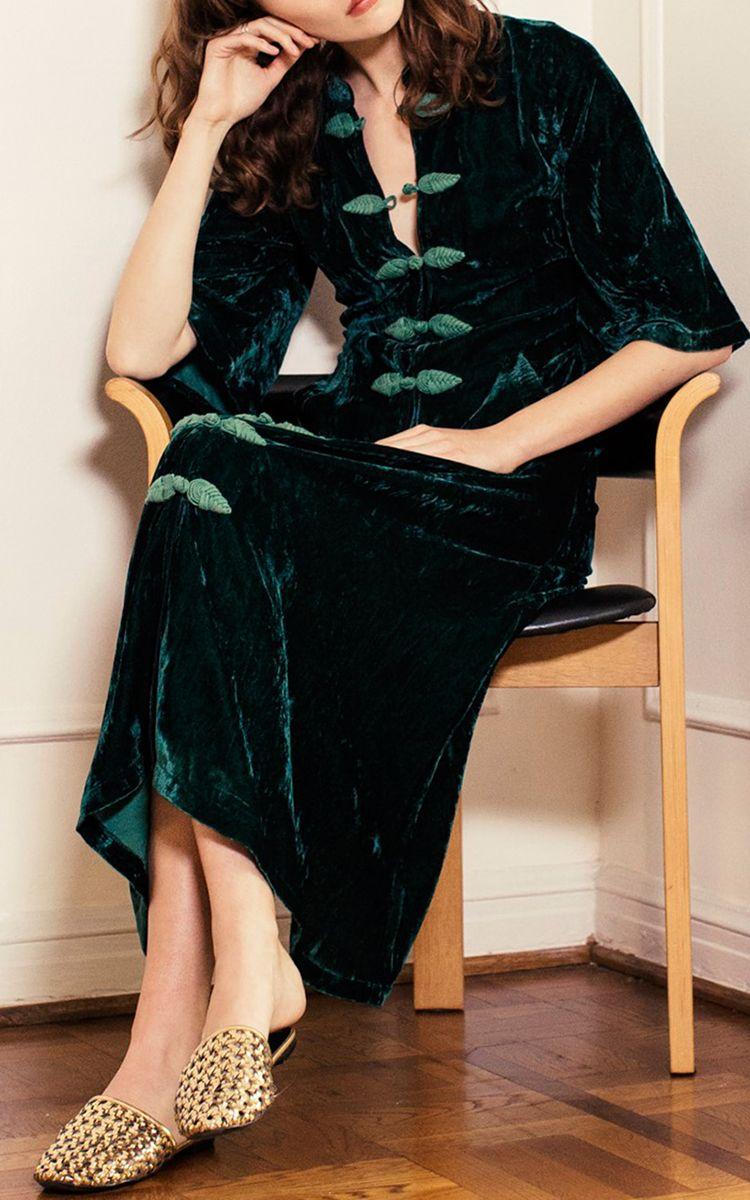 Velvet elin dress by rhode resort for preorder on moda operandi my