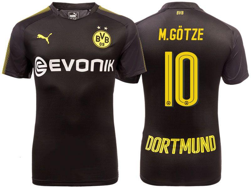 new styles b0433 7eb04 Borussia Dortmund 2017-18 Away Shirt mario gotze   Cheap ...
