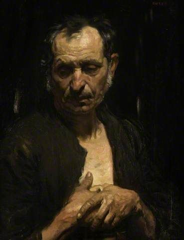 A Saint Of The Poor by William Orpen