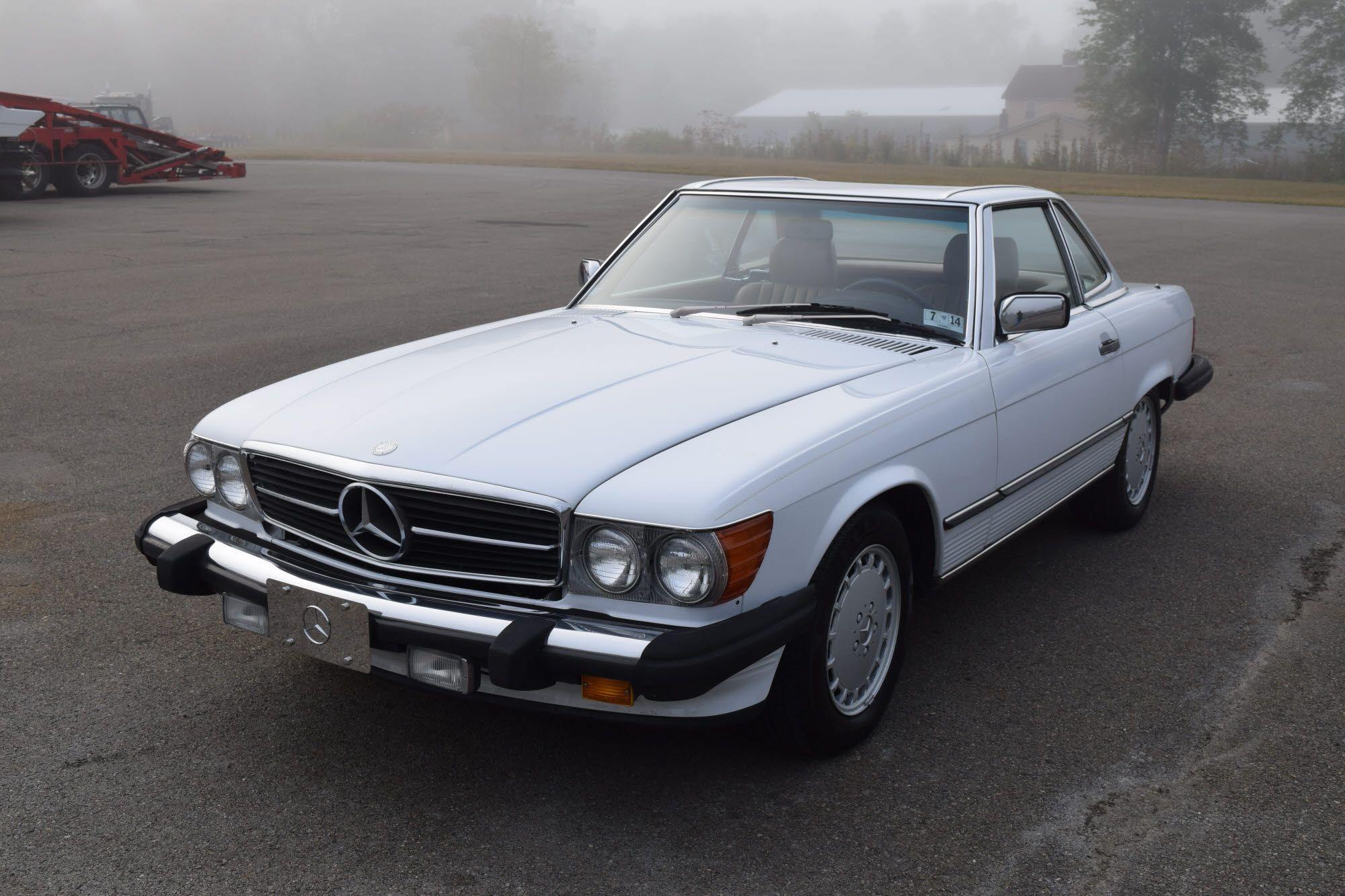 21KMile 1987 MercedesBenz 560SL (con imágenes) 21k