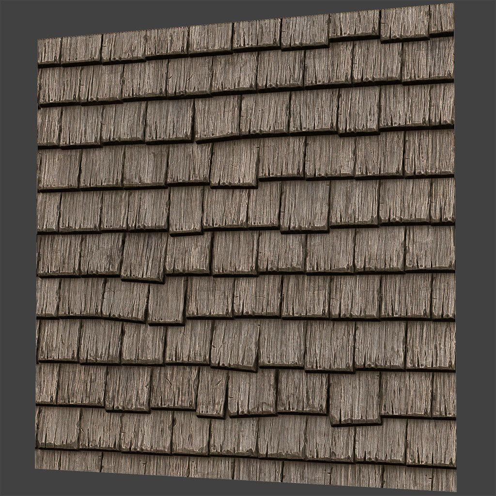 Best Artstation Seamless Wood Roof Texture Pbr Practice 2 400 x 300