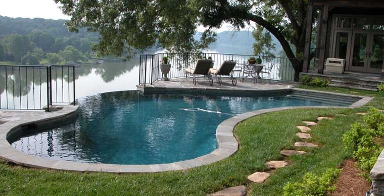 Small Swimming Pools | SEQUOYAH SWIMMING POOLS   Inground Gunite Pool  Builders In Eastern .