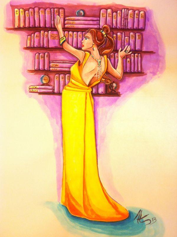 Princess Belle on Behance