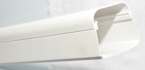 Perfil Canaleta Pvc Duto Ar Condicionado Split 80mm 1 Metro Com