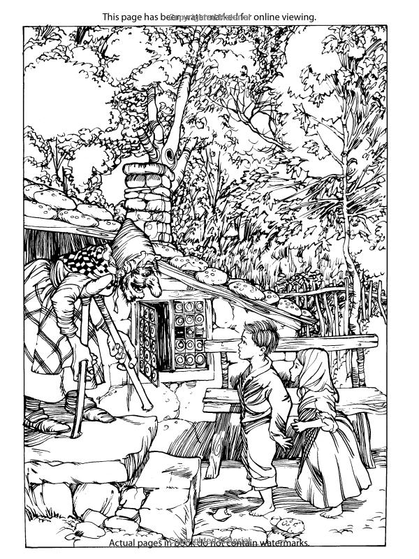 Rackham S Fairy Tale Coloring Book Dover Classic Stories Coloring Book Arthur Rackham Coloring Books Classic Story Coloring Books Art Therapy Coloring Book