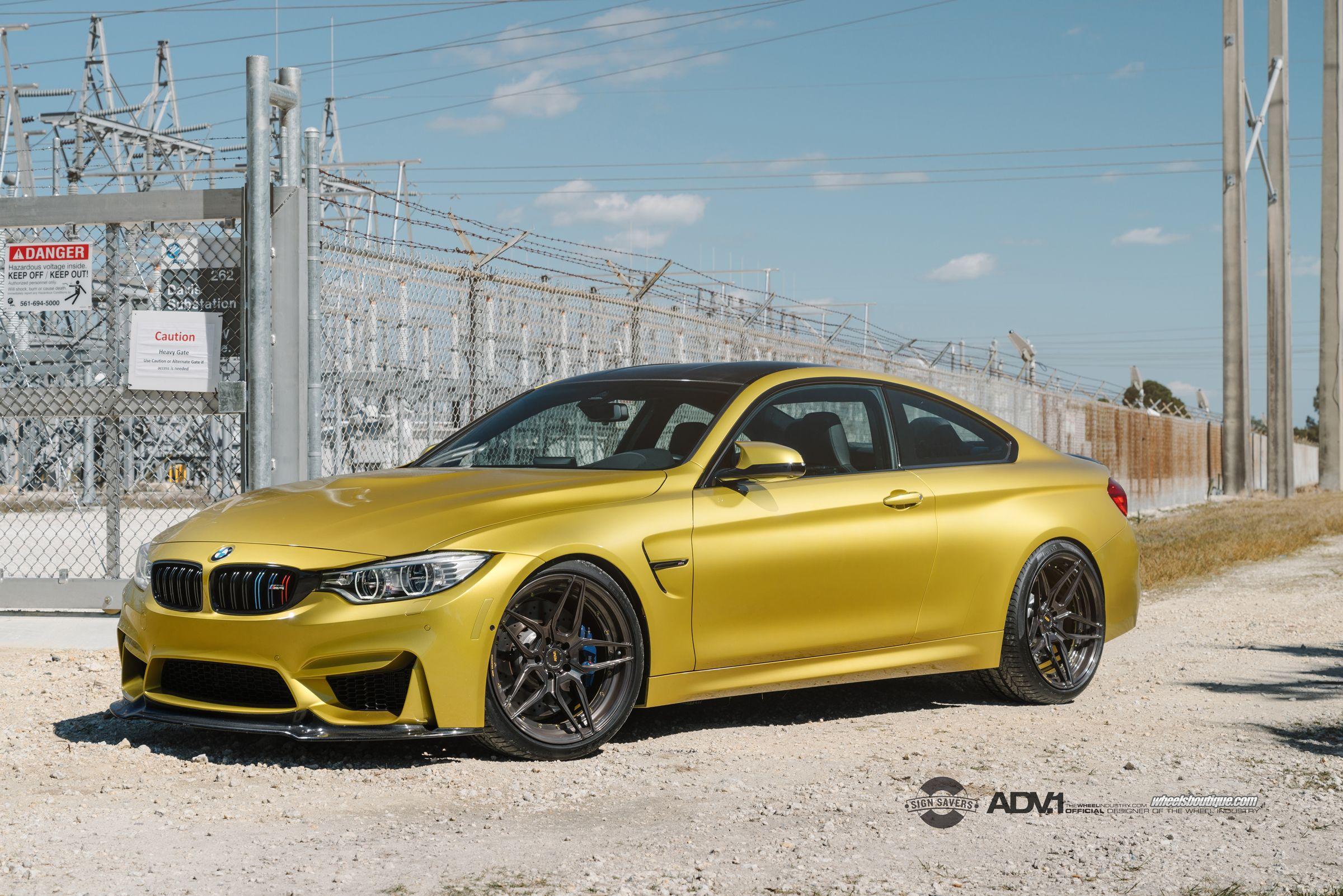 ADV1 BMW M4 F82 ADV05S MV2 Custom Forged