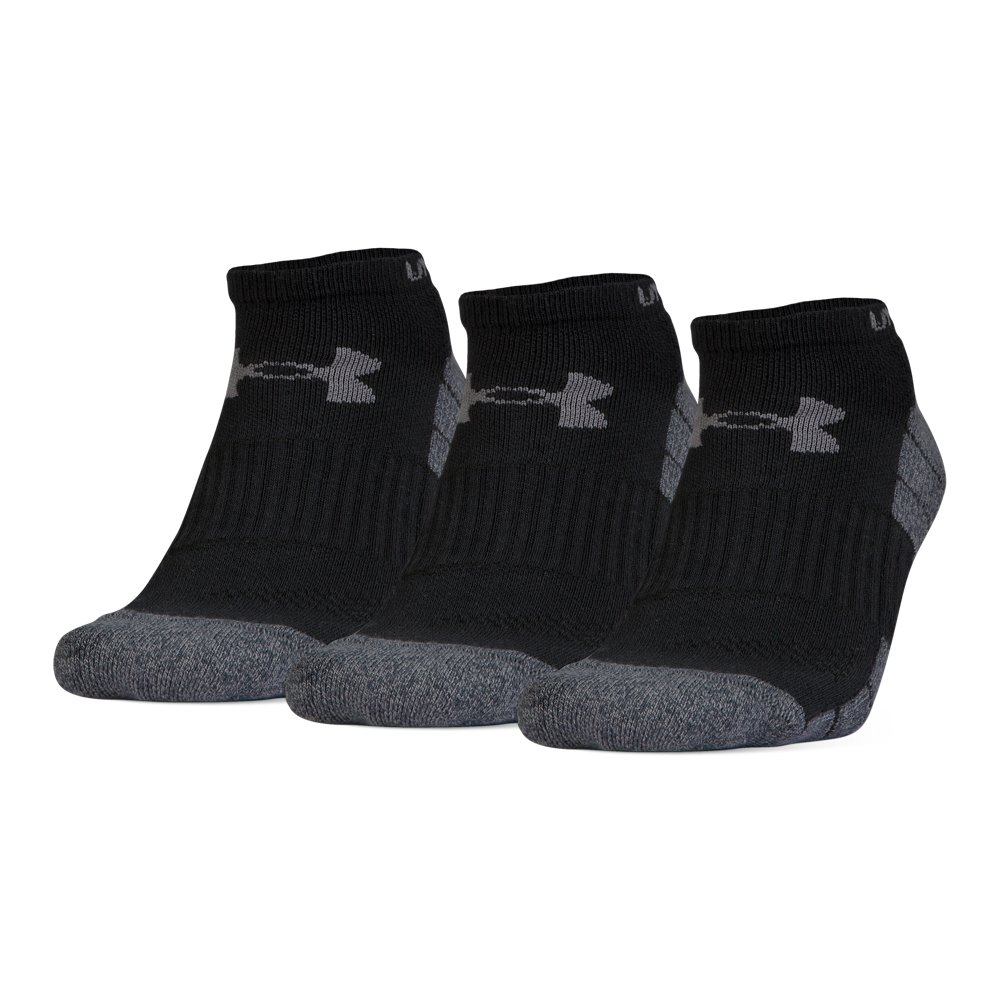 8e01467dca Men's UA Elevated Performance No Show Socks - 3-Pack in 2019 ...