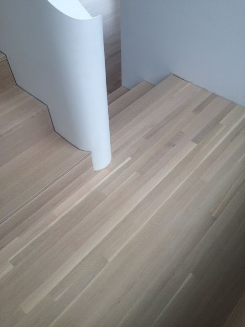 White Washed Rift And Quartersawn White Oak Floors And